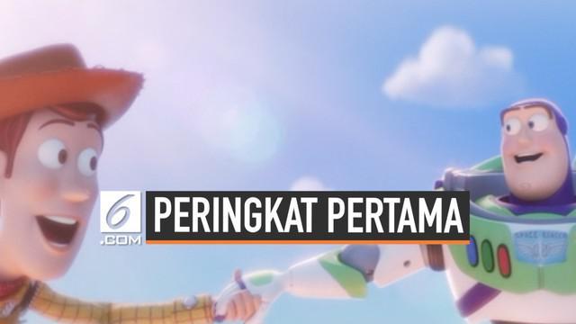 Toy Story 4 berhasil menduduki posisi teratas box office Amerika Utara. Pada akhir pekan lalu, film ini meraih pendapatan 118 juta dolar. Ini menjadi penghasilan terbesar untuk sebuah film animasi pada pembukaan perdananya