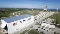 Launch Pad 39A di NASA's Kennedy Space Center in Florida. Kredit: SpaceX