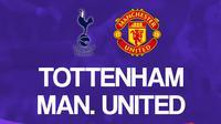Liga Inggris: Tottenham Hotspur Vs Manchester United. (Bola.com/Dody Iryawan)