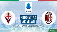 Serie A: Fiorentina vs AC Milan. (Bola.com/Dody Iryawan)