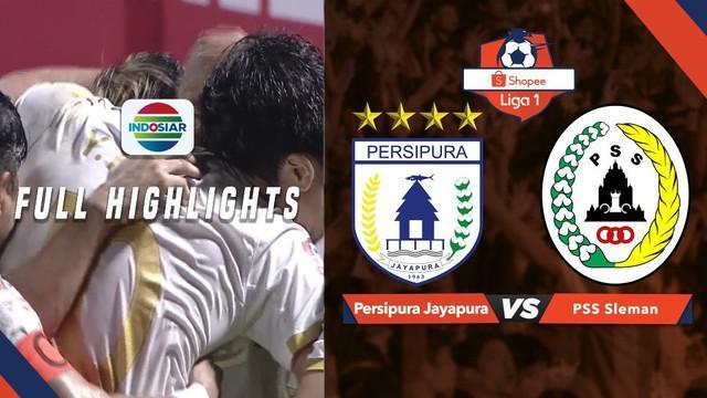 Berita video highlights Shopee Liga 1 2019 antara Persipura Jayapura melawan PSS Sleman yang berakhir dengan skor 1-1, Jumat (31/5/2019).