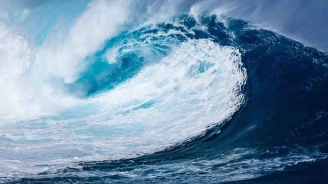 Ilustrasi tsunami  (Pixabay)