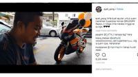 Pria asal Malaysia dapat kado Honda CBR1000RR dari sang istri sebagai hadiah ulang tahun pernikahan mereka (ayah_pong)