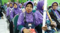 Suhernik, haji asal Malang suaminya meninggal dunia usai cerita soal Makam Baki. (Dream)