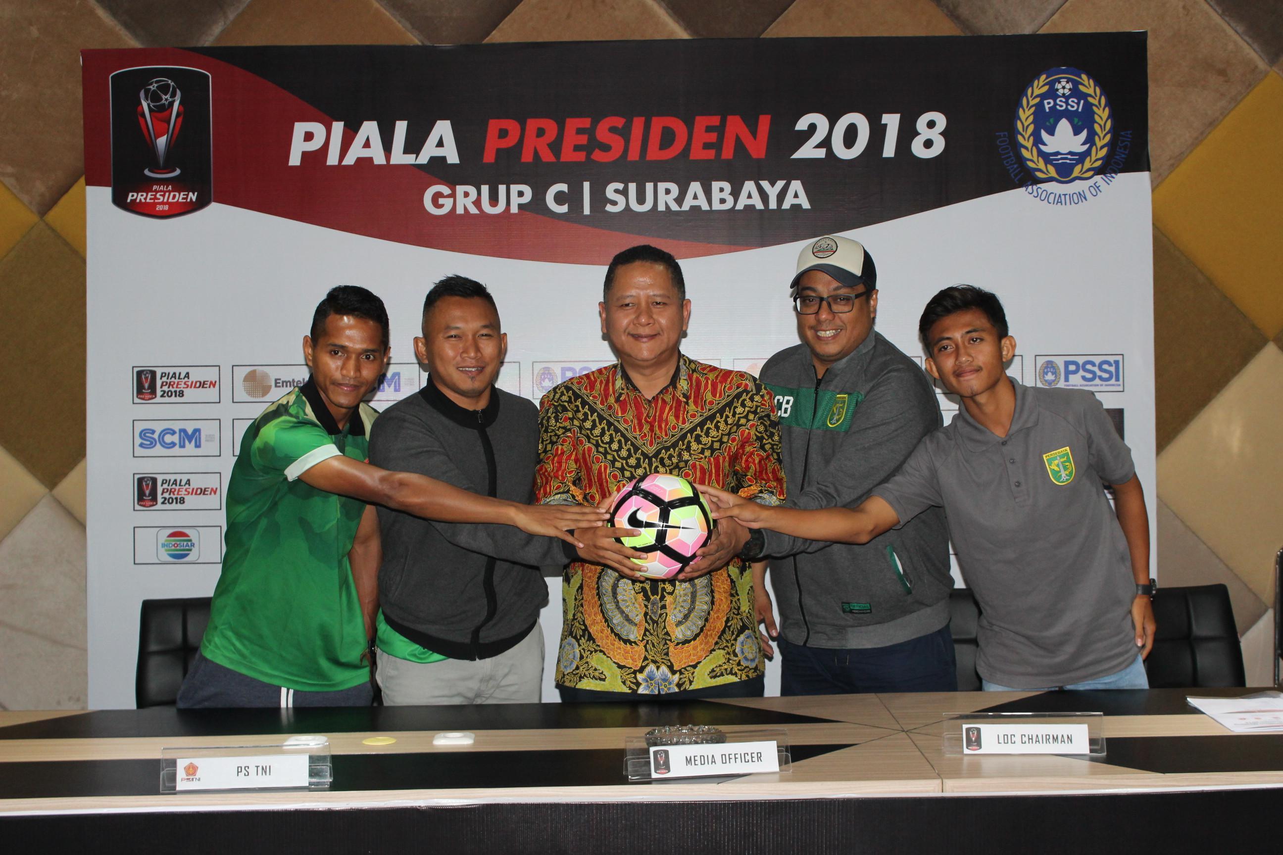 Manajer Persebaya, Chairul Basalamah setuju dengan kebijakan tidak bertemu Arema FC di babak delapan besar Piala Presiden 2018. (Dimas Angga P)