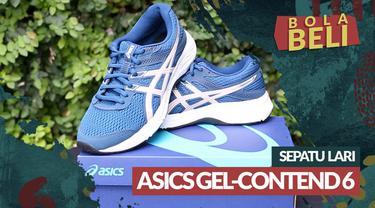 Berita video Bola Beli kali ini mengulas sepatu lari wanita Asics Gel-Contend 6. Seberapa nyaman sepatu tersebut saat dipakai?