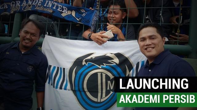 Berita video mengenai keseruan launching Akademi Persib Bandung di Stadion Siliwangi, Bandung, Selasa (13/2/2018).