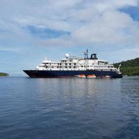 Kapal Pesiar Inggris Rusak Terumbu Karang di Raja Ampat | Foto: facebook
