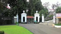 Persiapan khusus dilakukan di Kebun Raya Bogor unutk menyambut Raja Salman