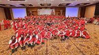 Kontingen Indonesia di ASEAN School Games 2019 di Semarang, Jawa Tengah. (Foto: Dokumentasi ASG 2019)