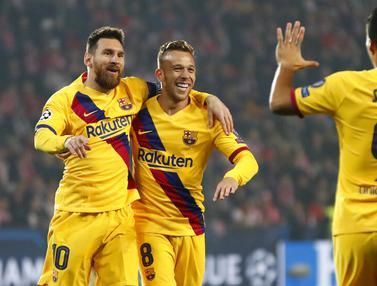 Barcelona Vs Slavia Praha