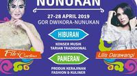 penyanyi dangdut papan atas Indonesia Fitri Carlina sudah dijadwalkan tampil di Festival Crossborder Nunukan