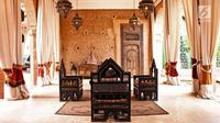 Tidak hanya terkenal dengan buah kurma yang mendunia, negara Arab juga memiliki arsitektur dan interior rumah yang unik. (Foto: iStockphoto)