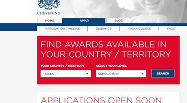 Beasiswa Chevening Inggris akan dibuka pada tanggal 6 Agustus 2018 (Caputure/chevening.org)
