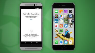 Dikecam, Aplikasi `Move to iOS` Tak Layak Hadir di Android