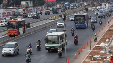 Sandiaga Uno Larang Kopaja dan Metromini Lewati Jalan Protokol Saat Asian Games