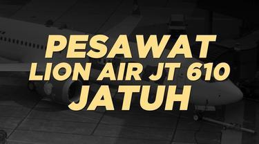 Berikut fakta dan data mengenai pesawat Lion Air JT 610 yang jatuh di perairan Karawang, Jawa Barat.