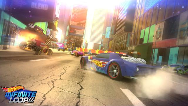 Mattel Rilis Gim Balap Mobil Hot Wheels Infinite Loop Tekno Liputan6 Com