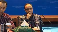 Juru bicara Kementerian Luar Negeri dalam press briefing pada Jumat, 26 Juli 2019 (Liputan6.com / Aqilah Ananda Purwanti)