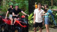 Syida Hadju dan Rizky Nazar liburan ke Bali (Sumber: Instagram/realllifeeeee/_rizkynazarr)