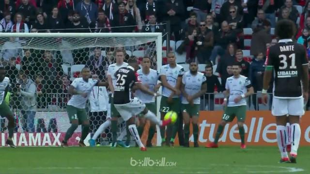 Berita video highlights Ligue 1 antara Nice Vs St Etienne 1-0. This video is presented by Ballball.