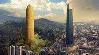 Fotografer lokal edit hasil jepretannya menjadi pemandangan wonderland yang menakjubkan. (Sumber: World of Buzz)