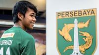 Pemain muda Persebaya, Supriadi. (Bola.com/Dok. Persebaya)