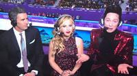 Johnny Weir dan Tara Lipinski Olimpiade. Dok: Twitter