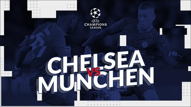 Berita video statistik Chelsea vs Bayern Munchen pada leg pertama 16 besar Liga Champions 2019-2020, Rabu (26/2/2020) di Stamford Bridge, London.