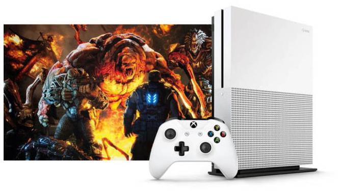 Inikah tampilan konsol teranyar Microsoft yang bernama Xbox One S? (Gamespot)