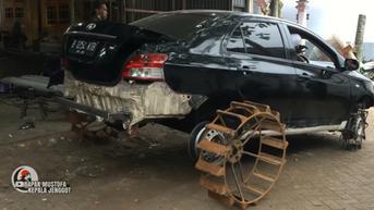 Toyota Vios Disulap Jadi Pembajak Sawah, Lebih Murah dari Traktor?
