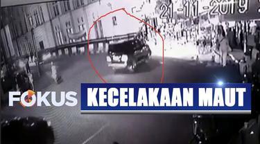 Kejadian ini pun mengejutkan pedagang dan sejumlah warga yang ada di lokasi kejadian.