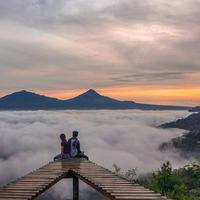 Punthuk Mongkrong, Magelang, Jawa Tengah. (Sumber Foto: dimas.hy/Instagram)