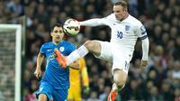Menurut Rooney, keputusan pensiun diambil setelah bepikir matang-matang serta hasil berdiskusi dengan keluarga dan teman-teman terdekatnya. (AP/Bogdan Maran/File)