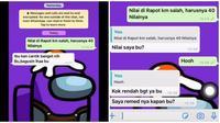 Balasan Murid saat di Prank Guru Dapat Nilai Jelek Ini Bikin Ngakak. (Sumber: TikTok./ @olip.philips)