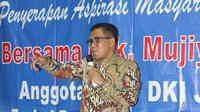 Anggota DPRD DKI Fraksi Demokrat Mujiyono.