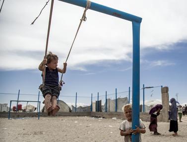 FOTO: Melihat Kamp Pengungsian Keluarga dan Pendukung ISIS di Suriah