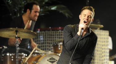The Killers. (Foto: Chris Pizzello / Associated Press)