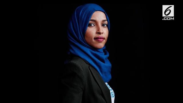 Ilhan Omar berhasil terpilih menjadi senator AS setelah memenangkan pemilihan di Minnesota. Omar adalah perempuan berhijab pertama yang masuk ke Senat AS.