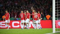 Bayern Munchen meraih gelar DFB Pokal setelah mengalahkan RB Leipzig pada laga final. (dok. Bayern Munchen)