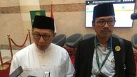 Menteri Agama Lukman Hakim Saifuddin menyampaikan pujian bagi PPIH dari Pemerintah Saudi. (www.kemenag.go.id)