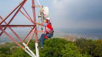 Menara telekomunikasi Mitratel (Foto: Mitratel).