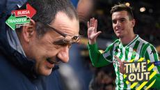 Berita video Time Out yang membahas tentang isu Maurizio Sarri ke Juventus dan Manchester United yang mengincar Giovanni Lo Celso dari Real Betis.