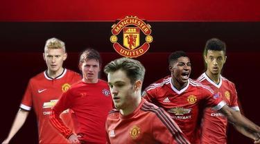 Video lima pemain muda dari akademi Manchester United yang di gadang-gadang akan menjadi penerus kesuksesan Beckham cs dari Class Of 92.