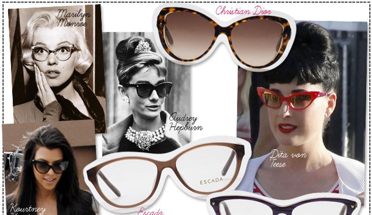 Atasi Kantong Mata Dengan Kacamata Gaya Fashion Hitam Liburan Anak 1 3
