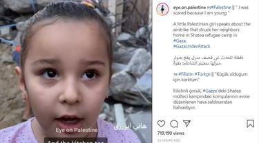 Kesaksian Gadis Kecil Palestina yang Rumahnya Dibom Pasukan Israel