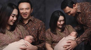 6 Pemotretan Perdana Ahok dan Puput Nastiti dengan baby Yosafat