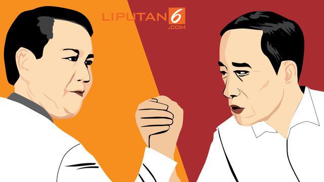 Survei Charta Politika Usai Deklarasi Prabowo Jadi Capres Jokowi