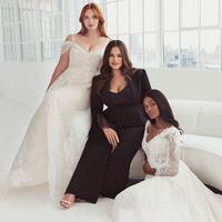 Berkaca dari pengalamannya, Ashley Graham membuat koleksi gaun pengantin khusus perempuan berukuran besar (Foto: instagram/pronovias)