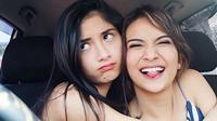 Faya Nicole dan Vanessa Angel (Instagram @vanessaangelofficial)